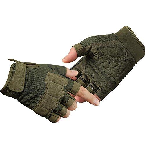 LHZMD Outdoor-Handschuhe Männer Sport-und Fitnesstraining, Abriebfest Atmungsaktiv, Mikrofaser,...