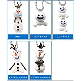 Frozen Fever Olaf & Snowgies Mini Figure Keychain Set of 5 TOMY Japan by Frozen Fever
