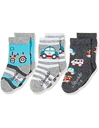 Sterntaler Baby-Jungen Socken Söckchen 3er Pack Fahrzeuge
