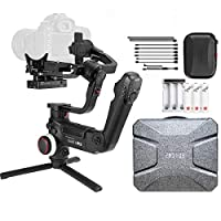 ‏‪Zhiyun Crane 3 Lab, 3-axis Handheld Gimbal DSLR Camera Stabilizer - Black‬‏
