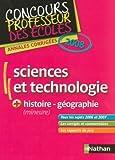 Image de Sciences et technologie + histoire et géographie (mineure) : Annales corrigées