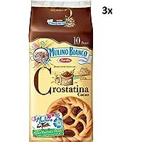 3x 10x Mulino Bianco Chocolate Tart Pastry Crostatina (3x10) 1200g