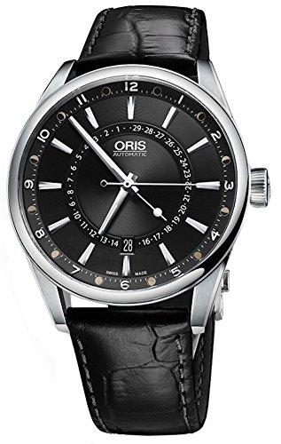Oris FC Herren-Armbanduhr Schwarz Artix Pointer Moon