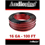 Audiopipe 100 Feet 16 GA Gauge Red Black 2 Conductor Speaker Wire Audio Cable