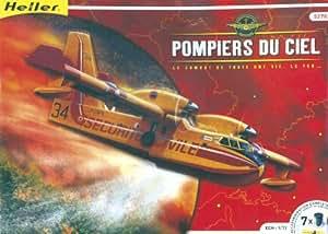 Heller - 52702 - Maquette - Avion - Pompier du Ciel / Canadair - Echelle 1/72