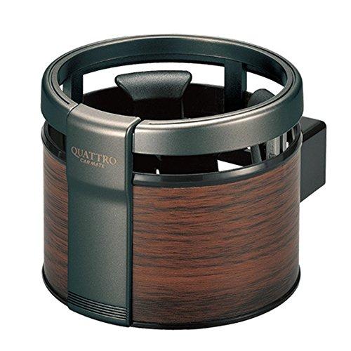 Preisvergleich Produktbild Momorain CARMATE DZ320 Auto Klimaanlage Outlet Dashboard Holzmaserung Becherhalter (Farbe: Antike Farbe & Schwarz)