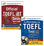 Official TOEFL® Test Prep Savings Bundle, 2 Vols. w. CD-ROM and Audio-CD