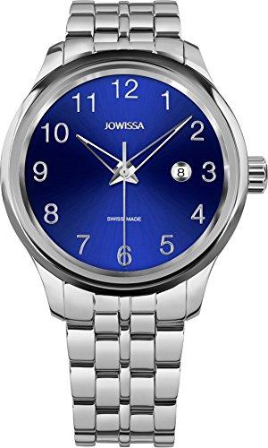 Jowissa Tiro montre-bracelet pour homme 45mm en acier inoxydable analogique J4.226.L