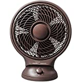 V-Guard Personal Fan Lap Breeze 250 mm Sweep Size With Speed Control - Brown
