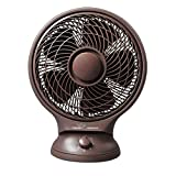#10: V-Guard Personal Fan Lap Breeze 250 mm Sweep Size With Speed Control - Brown