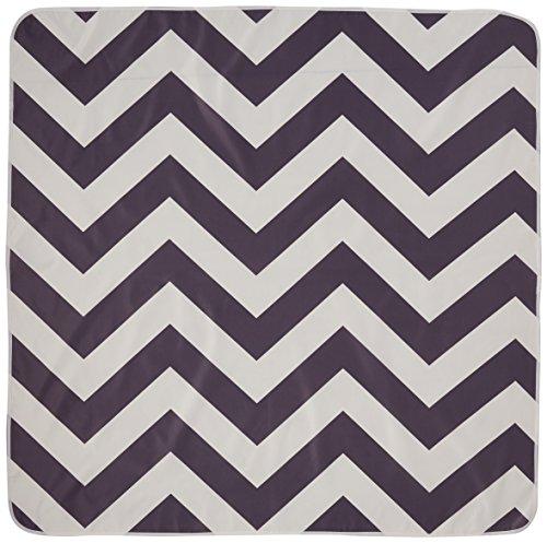 Prince Lionheart Catchall Boden Vorzelt Teppich Allzweckmatte rechteckig Chevron Grau/Weiß (Und Grau Weiß Chevron)