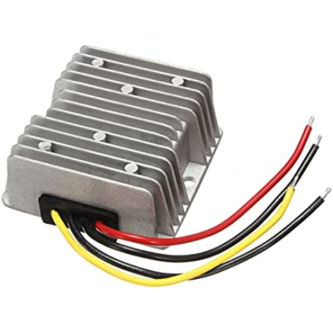 Converter de reduccion - SODIAL(R)DC / DC convertidor de voltaje de 24V Regulador de bajada de 12V 20A 240W Interruptor nuevo de
