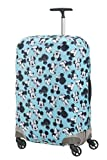 Samsonite Global Travel Accessories Disney Lycra Kofferhülle, M, blau (mickey/minnie blue)