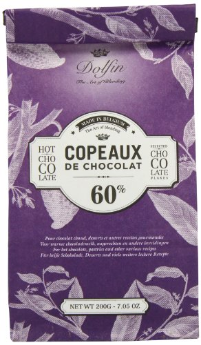 Dolfin Copeaux de Chocolat 60%, Trinkschokolade-Flocken 60%