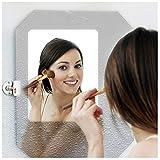 HOHOFILM Spiegelfolie, Antibeschlag, selbstklebend, beschlagfrei, Anti-Wasser-Beschlag, für Badezimmer, Dusche, Spiegel, durchsichtig, 50cmx200cm