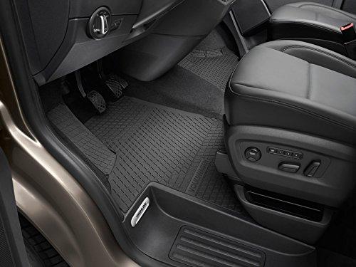 Preisvergleich Produktbild Original VW T5 T6 Transporter Multivan Allwettermatten Gummimatten 2x vorn Gummi Fußmatten schwarz 7H1061502A 82V