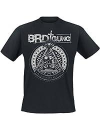 BRDigung - In Goldenen Ketten T-Shirt mit Rückendruck