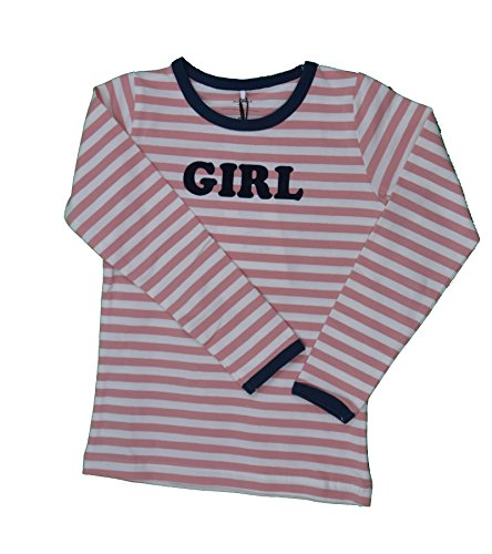 Name it Langarmshirt Shirt Ringelshirt GIRL NITJULE 13140988 rose tan Gr.104 (Tan-jungen Shirt)