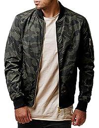 Luoluoluo Abrigos Hombre Invierno Ropa Elegante,Sudadera Zip Outwear de Invierno Cálido Slim Fit Abrigo