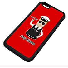 Personalised Gift - Traffic Officer Police Constable / Sergeant / (Chief) Inspector iPhone 6 / 6s Case (Police Design Theme, Colour Options) - Any Name / Message on Your Unique - PC SGT INSP CID - Blonde / Yellow Hair Policeman Hat Cap