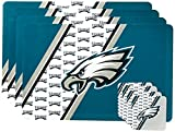 NFL Philadelphia Eagles Placemat Coaster Set