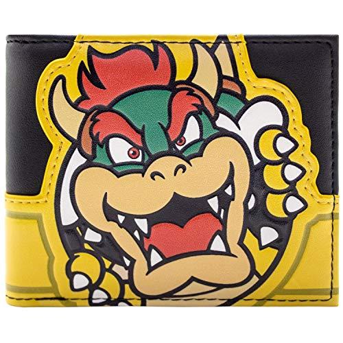 Super Mario Erzfeind Bowser Gelb Portemonnaie Geldbörse