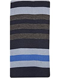 Mens Ladies Neck Scarf Wrap Stripes Winter Warm Lightweight Soft Material Unisex