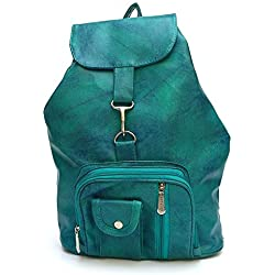 Glory Fashion Women's Stylish Handbag Backpack Green