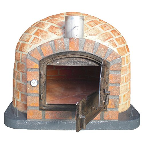 110cm Rústico Outdoor Wood-Fired Brick Pizza Oven