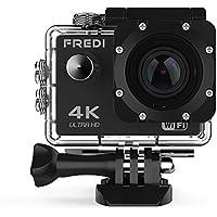 Action Kamera WIFI sports cam 4K camera 20MP Ultra Full HD Unterwasserkamera Helmkamera wasserdicht Sicher zu Hause