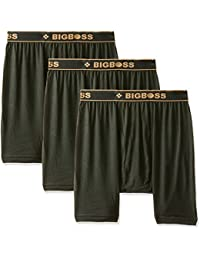 Dollar Bigboss Men's Solid Trunk (Pack of 3)(MDTR-08_Multicolour_Large)