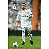 Grupo Erik Editores gpe5187–Poster 2017/2018mit Design Real Madrid Sergio Ramos, 61x 91.5cm
