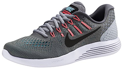 Nike Damen Lunarglide 8 Laufschuhe Grau (Cool Grey/Black/Wolf Grey/Polarized Blue)