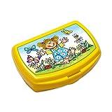 Lunchbox * LOTTE MIT SCHMETTERLING * für Kinder von Lutz Mauder // Lotte Brotdose ohne Namensdruck // Perfekt für Mädchen & Jungen // Vesperdose Brotzeitbox Brotzeit (ohne Namen)