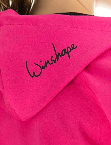 Winshape Damen Hoodiejacke Freizeit Sport Pink