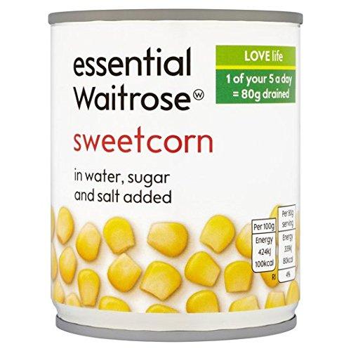 Sweetcorn essentielle Waitrose 200g
