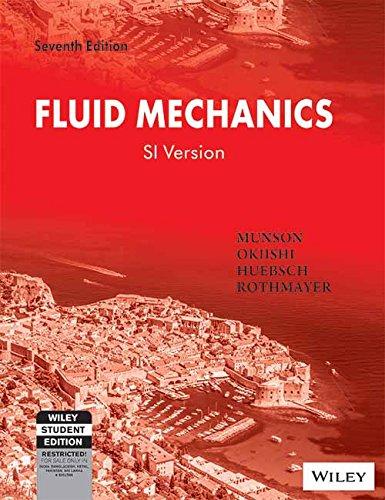 Fluid Mechanics , SI Version, 7ed