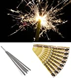 """100 x Sparklers 18"""" Wedding Party 40 cm Giant Large Gold Outdoor"""