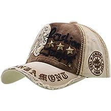 Cotone Cappello da Baseball - iParaAiluRy Regolabile Cappellini da Baseball