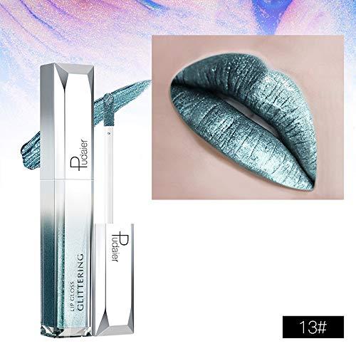 Aktionspreis,Lippenstift,PorLous 2019 Mode Beliebt Neu INS Starry Shine Lip Gloss Wasserfester,...