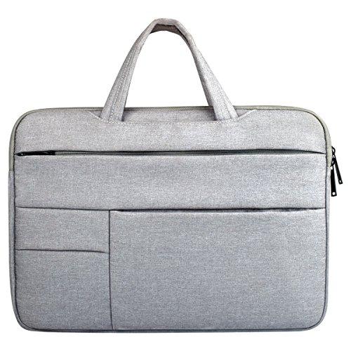 GIGIEroch-MB Laptop-Tasche große Business-Tasche Laptop Handtasche Aktentasche Handtasche Satchel Tasche Tablet Bussiness Tragetasche für Frauen Umhängetasche Aktentasche Herrentasche (Apple Air Ladegerät Ipad Oem)