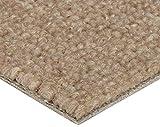 BODENMEISTER Teppichboden Auslegware Meterware Schlinge Beige 400 cm und 500 cm Breit, verschiedene Längen, Variante:, 1 Stück, 5,5 x 4 M, BM72051_beige_550x400