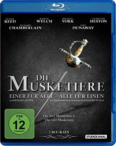 Bild von Die Musketiere - Einer für alle - Alle für einen! [Blu-ray]