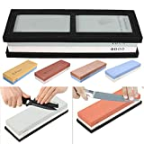 KING DO WAY Double Sided Whetstone Grit Combination Waterstone Sharpener Sharpener Sharpening Stone 400/1000 Grit