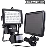 Hardoll 60 LED Bright Solar Lights (Black)