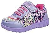 My Little Pony Filles Skate Baskets Paillettes Crochet et Boucle MLP Chaussures de Sports Pour Enfants Taille UK 6-12 - - Lilac Skate Shoes,