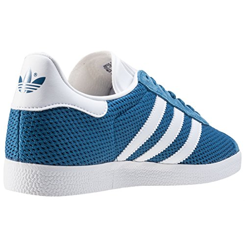 Sneakers Bianche Gazelle Adidas Blu Herren Nicamex fqrgwf0