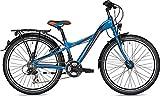 Unbekannt 24er Jungenfahrrad Falter FX 421 Pro Y-Lite Rh 31 cm mit Nabendynamo, Farben:Blau