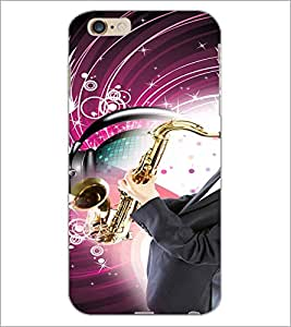 PrintDhaba Trumpet D-3047 Back Case Cover for APPLE IPHONE 6S (Multi-Coloured)