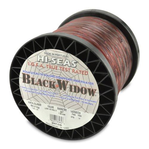 Hi-Saw Black Widow Co-Polymer Line, Camouflage, 740 Yard, 130 Pound Test -